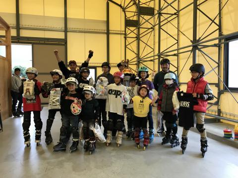 4月インラインスケートスクール申し込み開始!!