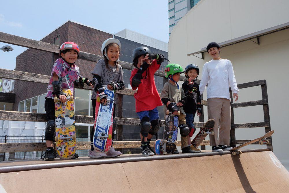 【スケートボード・BMX平日スクール】7月受付開始!!
