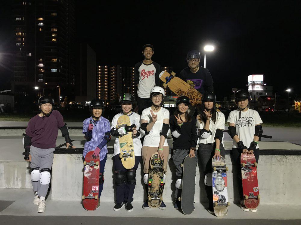 【ガールズ・大人限定スケートボード】 6月受付開始!!