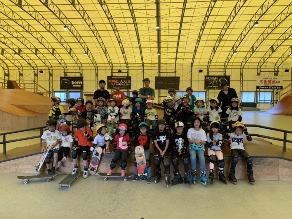 【スケートボード・BMX週末スクール】7月受付開始!!