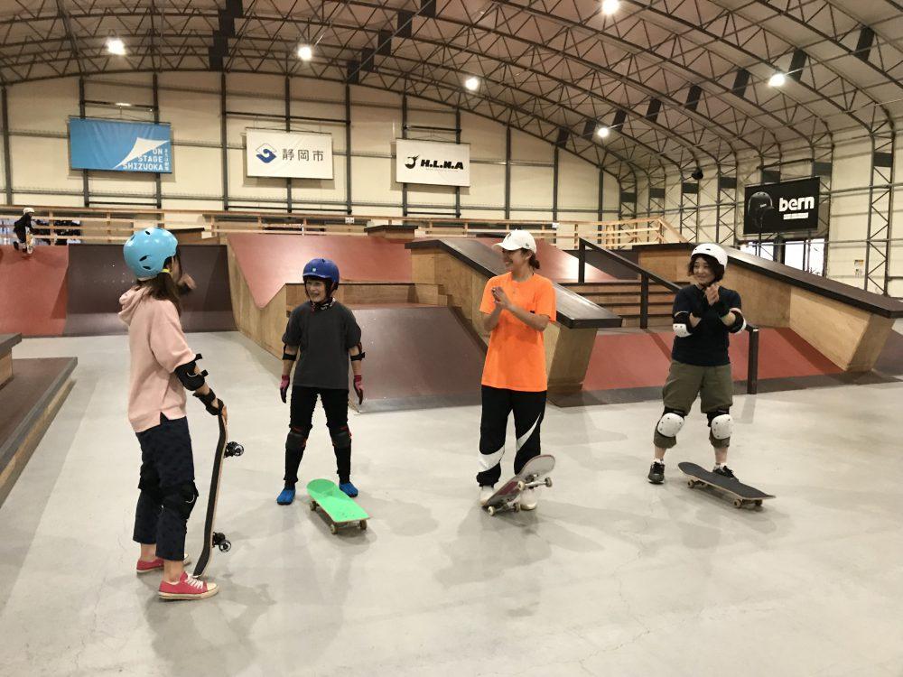 ガールズ・大人限定スケートボード受付開始!