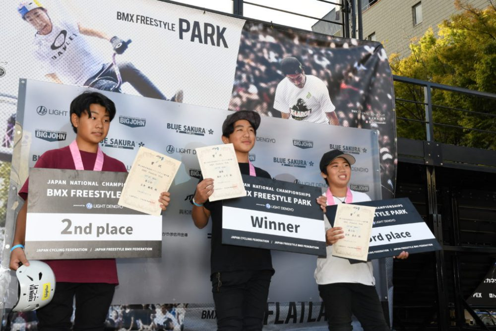 全日本BMXフリースタイル・パークで快挙!