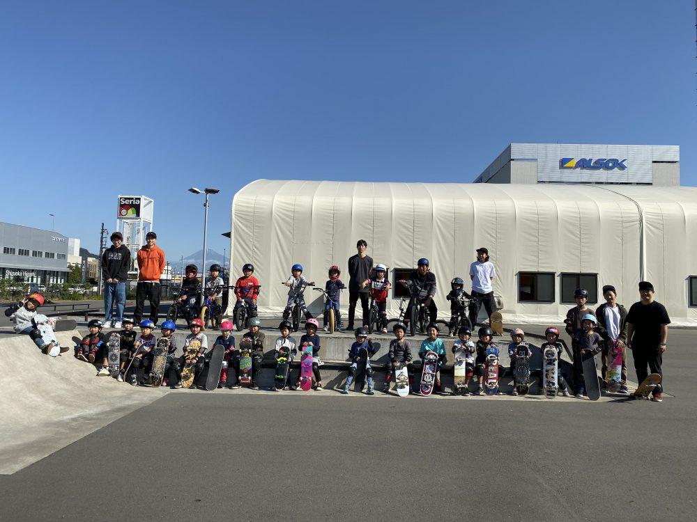1月週末スケートボード・BMXスクール受付開始!