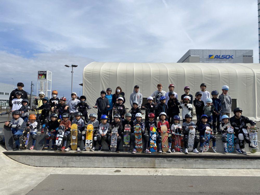 7月休日スケートボード・BMXスクール受付開始!