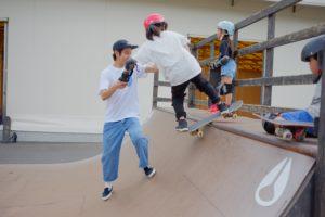 通常営業& スケートボードスクール