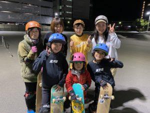 通常営業 & Girls Skate Day